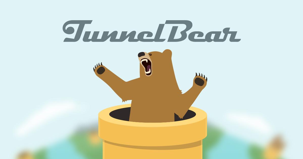 Tunnel Bear Logo
