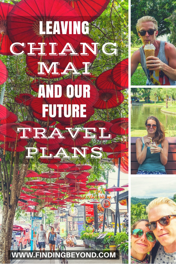 Our temporary Chiang Mai living has come to an end. We're sad to leave but excited to get back on the road again. Check out where we're off to next!