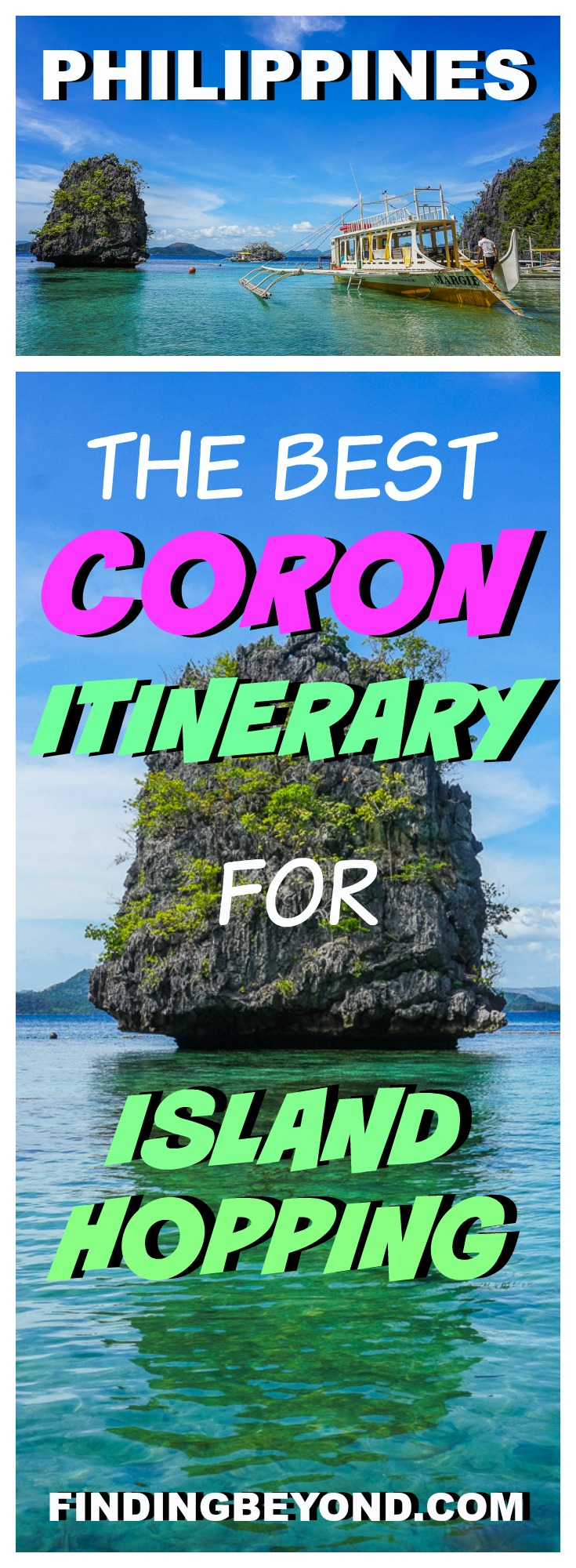 Check out our tried and tested best Coron itinerary which includes Coron Island hopping, awesome accommodation in Coron town and how to get there.
