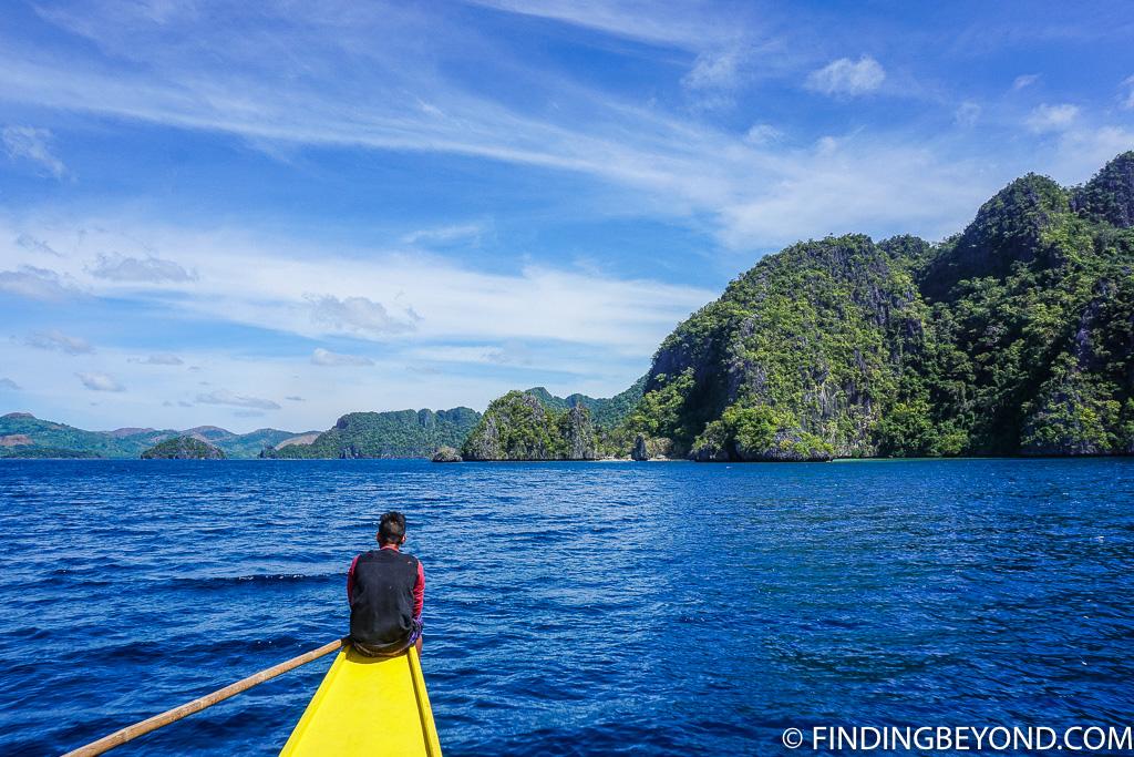 Coron Island Hopping boat trip