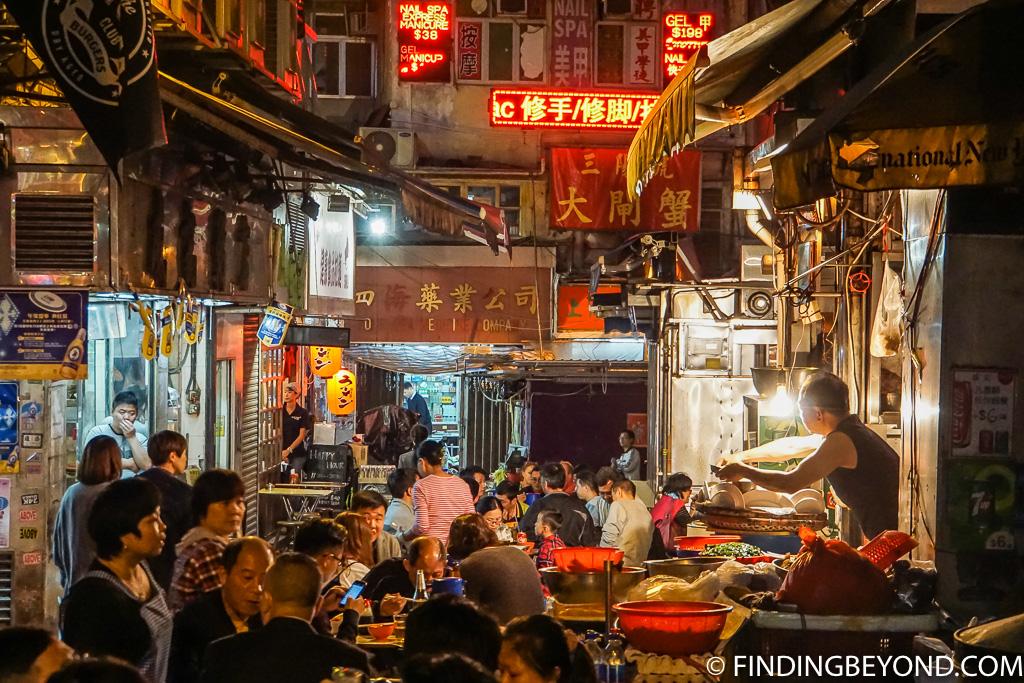 Hong Kong Food Truck Location