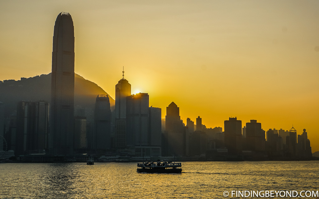 Things to do in Kowloon Hong Kong Skyline Sunset