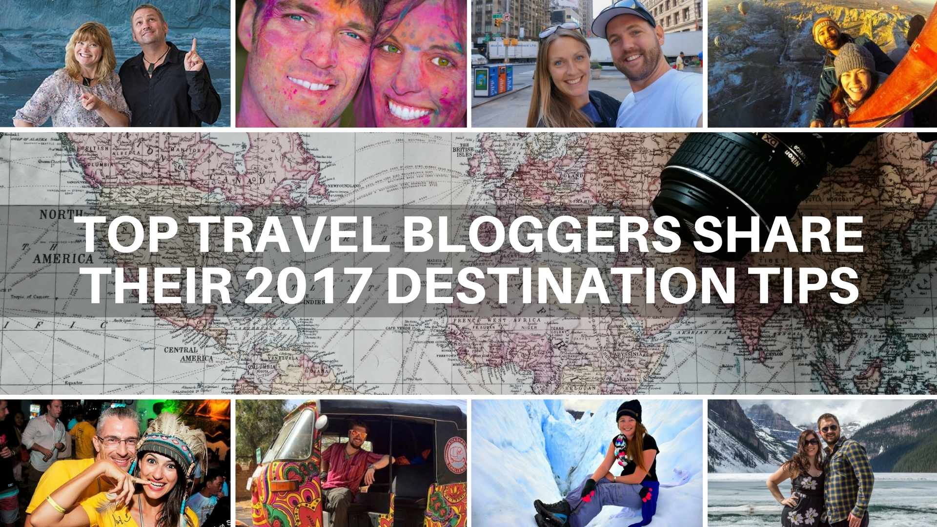 Top Travel Bloggers Destination 2017 Cover