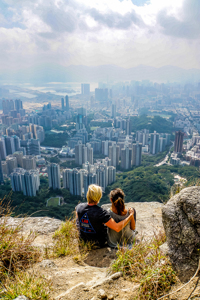 Finding Beyond at Lion Rock Hong Kong