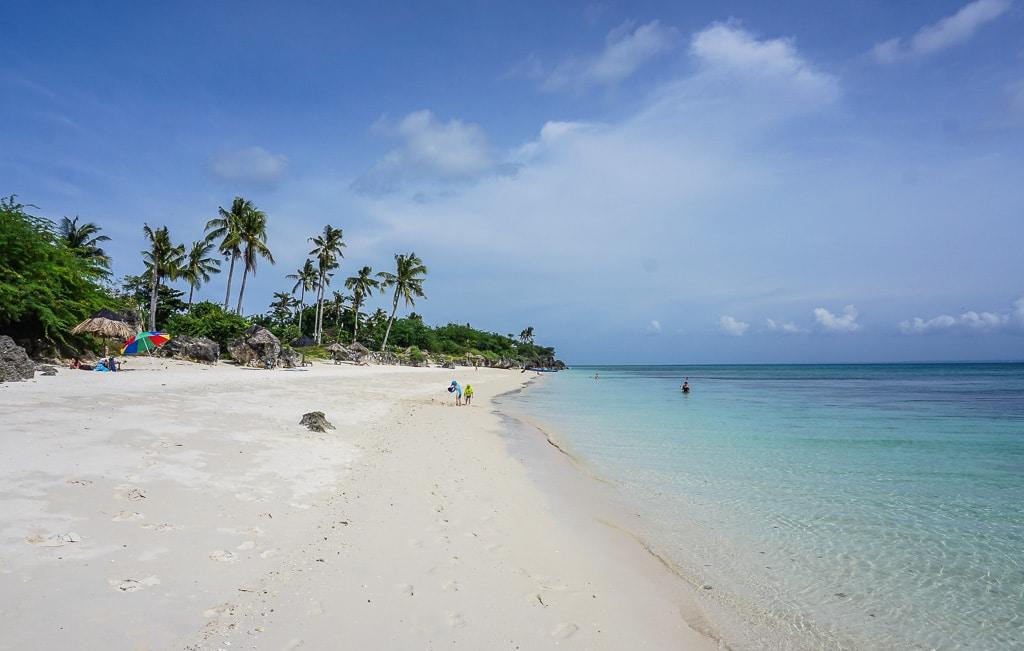 Paradise Beach on Bantayan Island, Cebu, Philippines