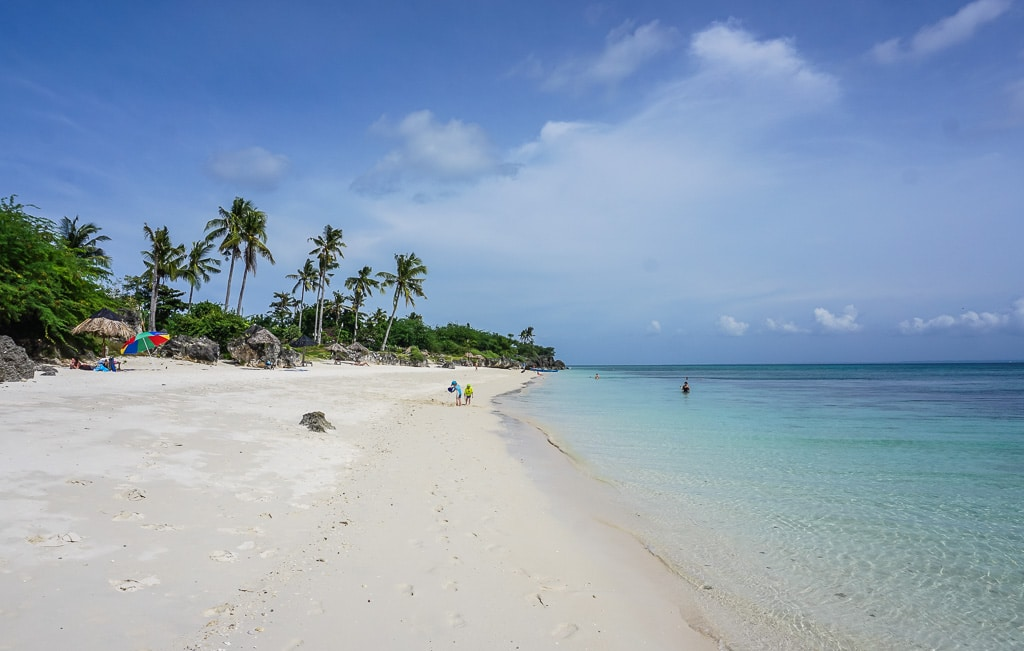 Paradise Beach on Bantayan Island, Cebu, Philippines