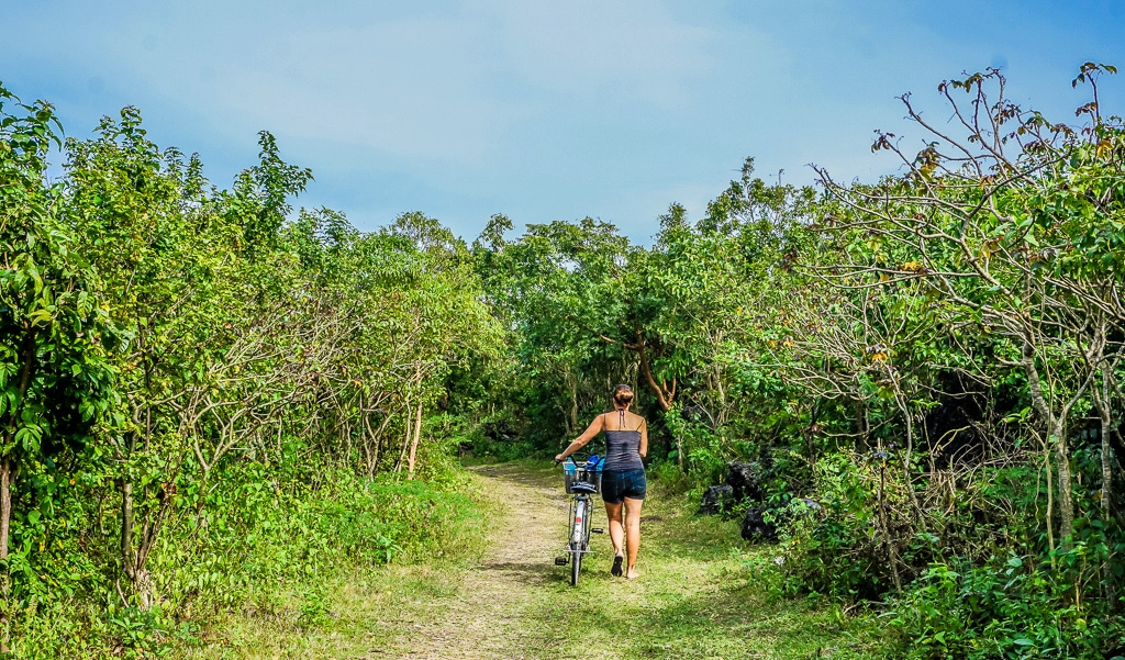 Cycling on Bantayan Island, Cebu, Philippines