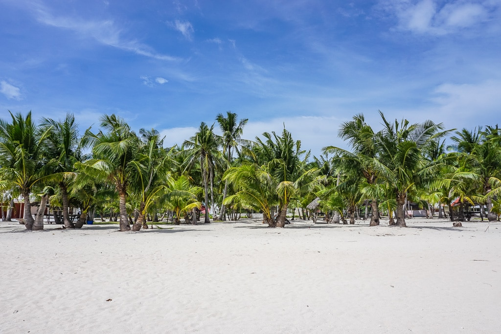 Santa Fe Beach on Bantayan Island, Cebu, Philippines