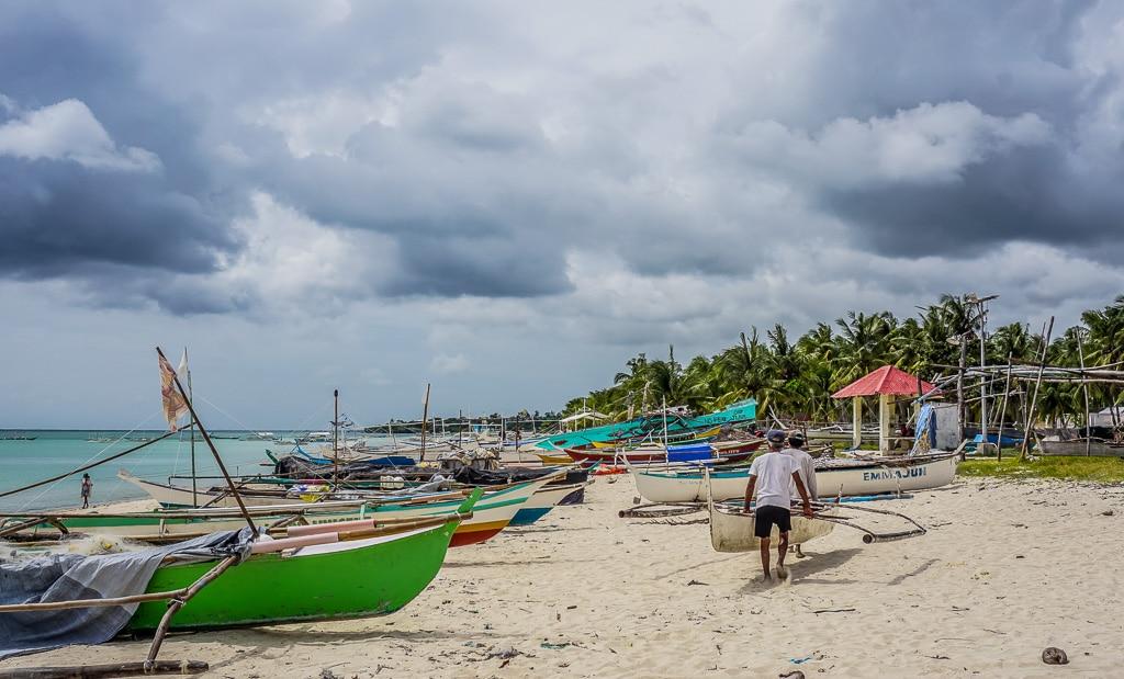 Santa Fe Beach on Bantayan Island, Cebu, Philippines
