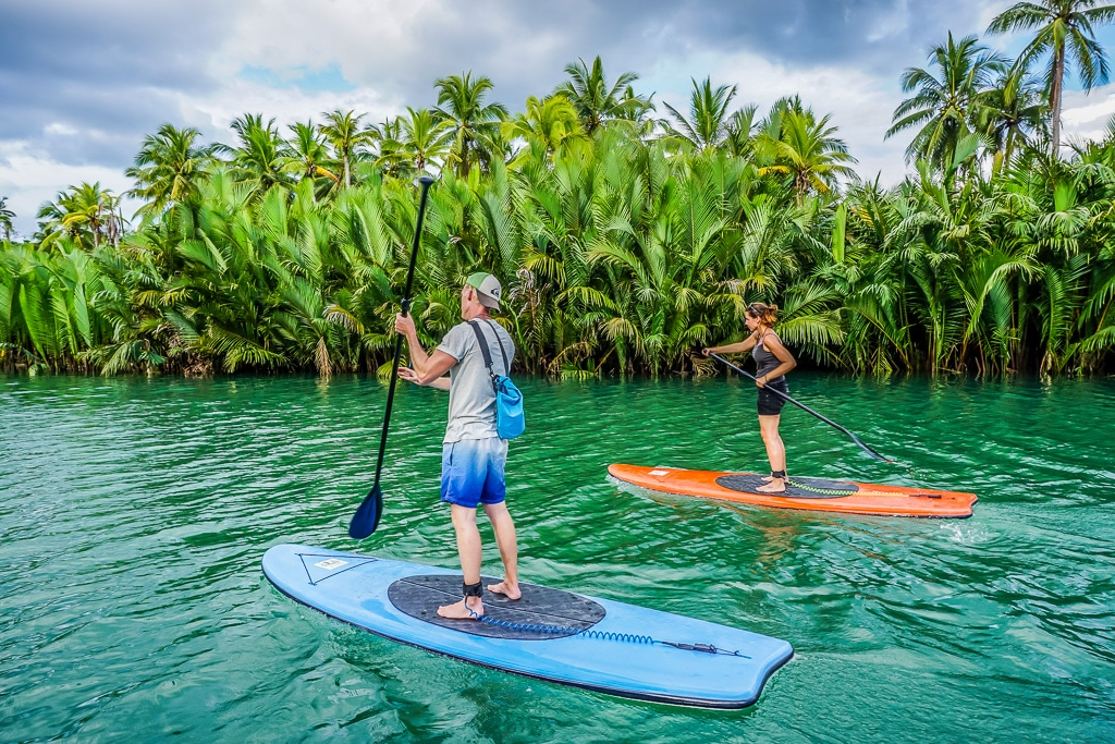 Loboc River Paddle Boarding - Bohol Attractions Best Places In Bohol Philippines