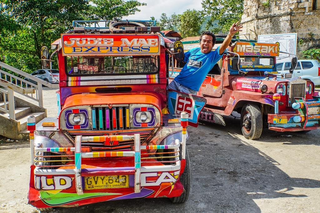 Bohol Day Tour Van