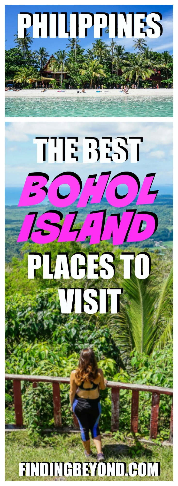 Bohol Island should be added to everyone's Philippine island hopping itinerary. Check out our best places in Bohol to visit and other Bohol attractions.