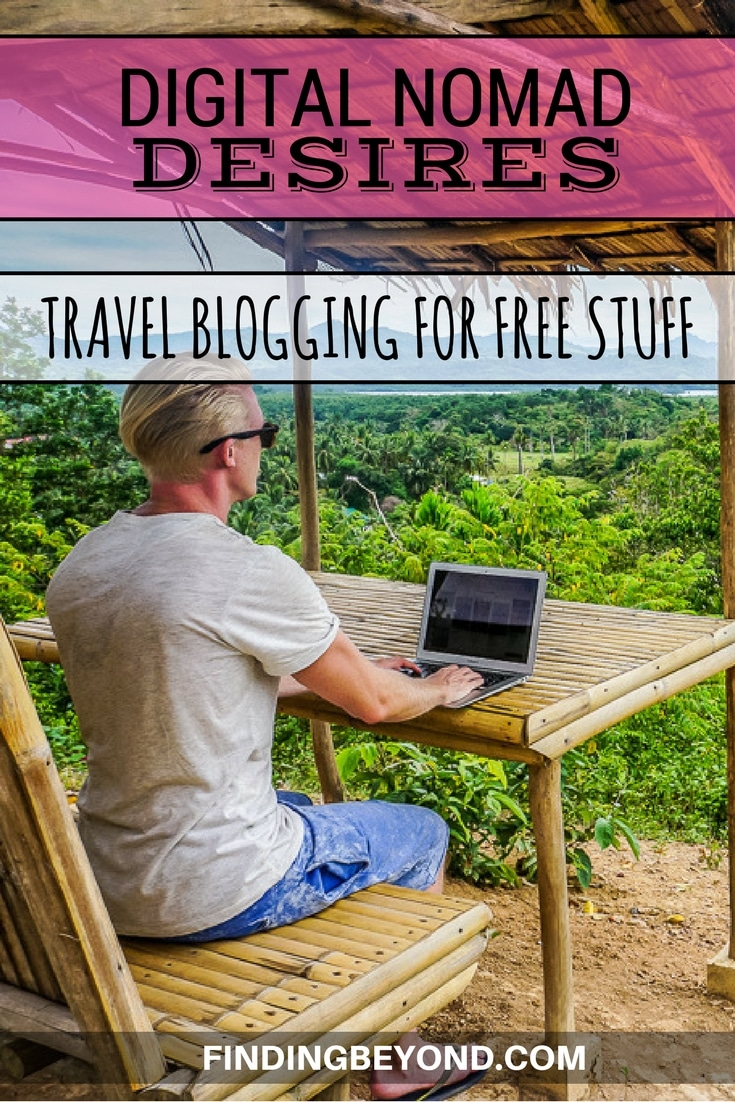 In this 6th part of our Digital Nomad Desires series, we discuss how as travel bloggers, we're lucky enough to get rewarded with awesome free stuff.