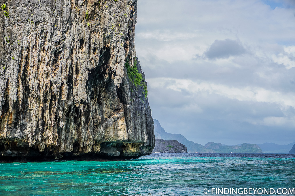 The stunning limestone on our El Nido trip