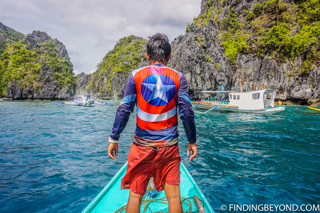 Our El Nido trip guide, Jay, from El Nido Paradise