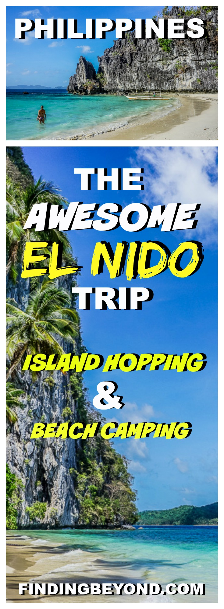 Check out our awesome El Nido trip itinerary. Included is information on El Nido island hopping, El Nido camping and how to get there.