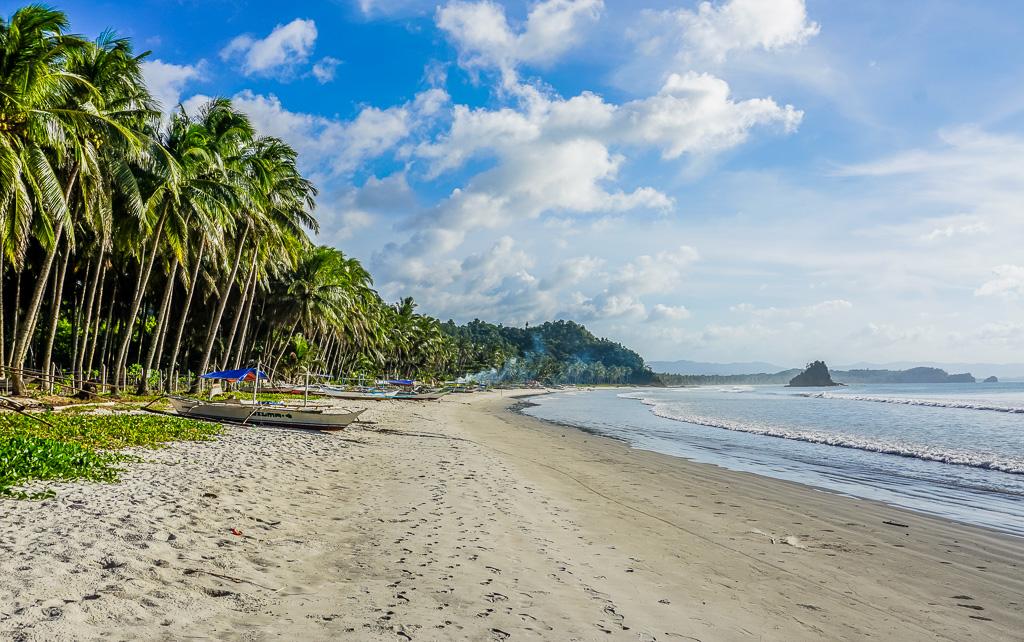 Alimanguan Beach on Long Beach San Vicente Palawan
