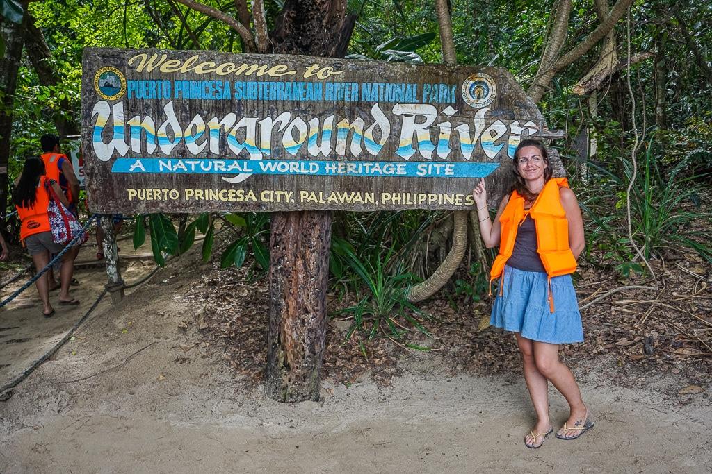 Puerto Princesa Underground River in Palawan Sabang