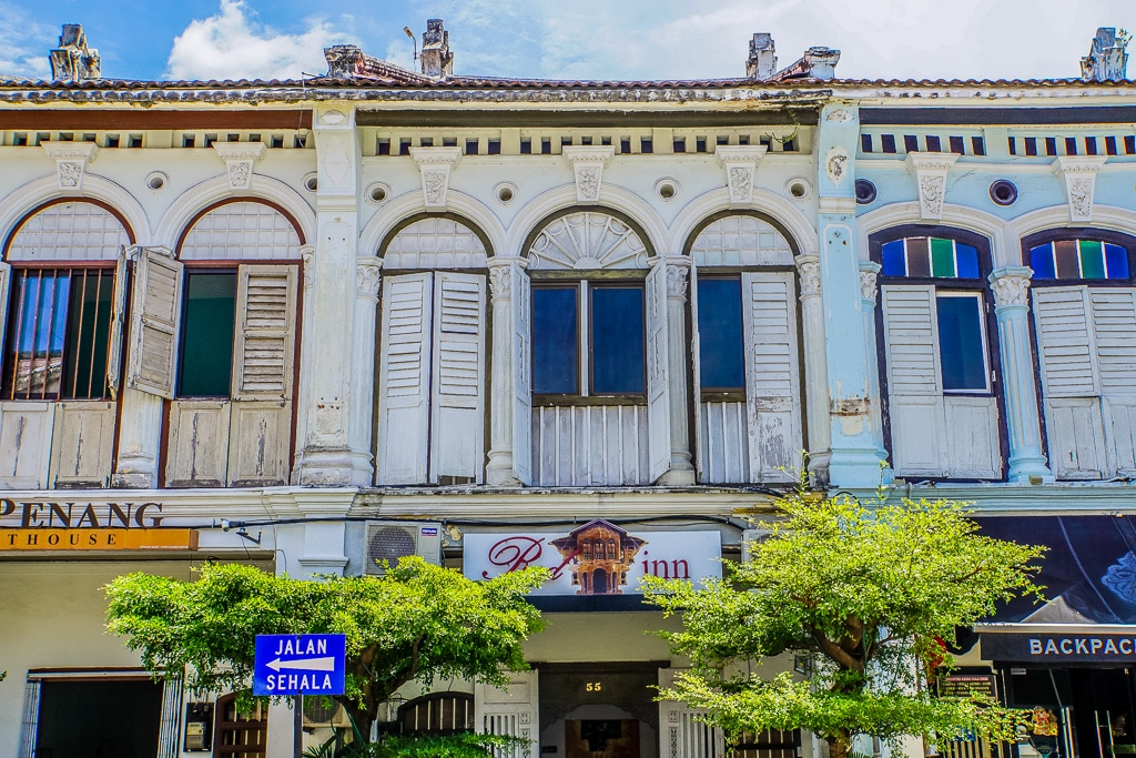 George Town Georgetown Old Town Penang Island Malaysia-