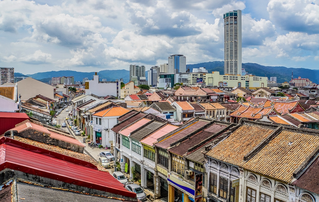 George Town Georgetown Old Town Penang Island Malaysia-
