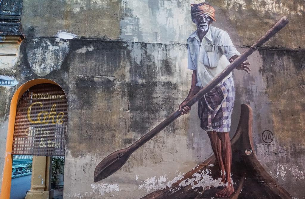 George Town Georgetown Street Art Penang Malaysia