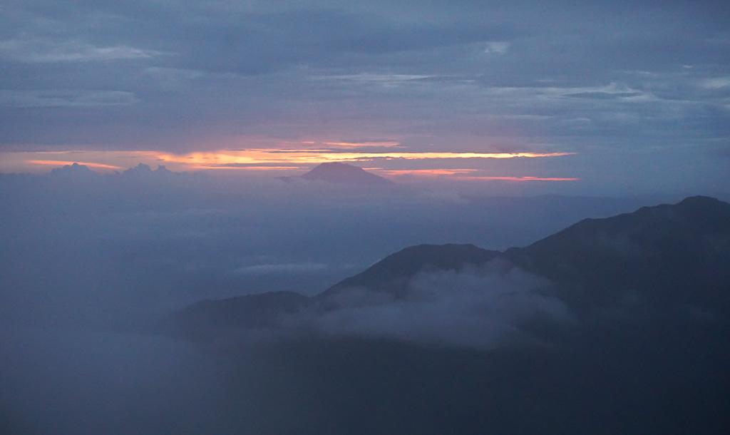 Dieng Plateau Sunrise DIY Walking Tour Java Indonesia PIN