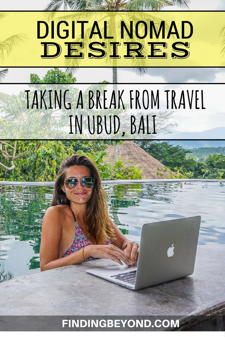 After 3 months of continual travelling, we're taking a break in Bali to concentrate on our Digital Nomad mission. See our plans for the next few weeks.