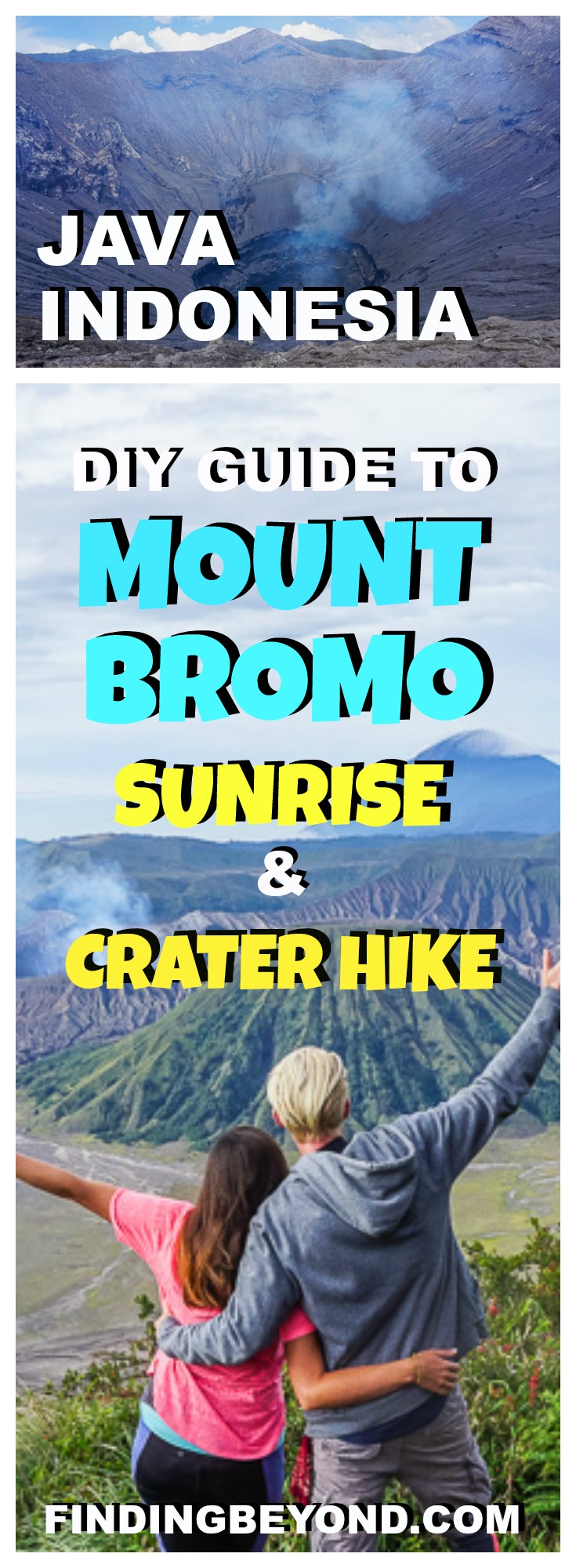 To best enjoy the Mount Bromo sunrise and Mount Bromo hike to Bromo crater, we recommend avoiding a tour and doing it yourself by following this guide.
