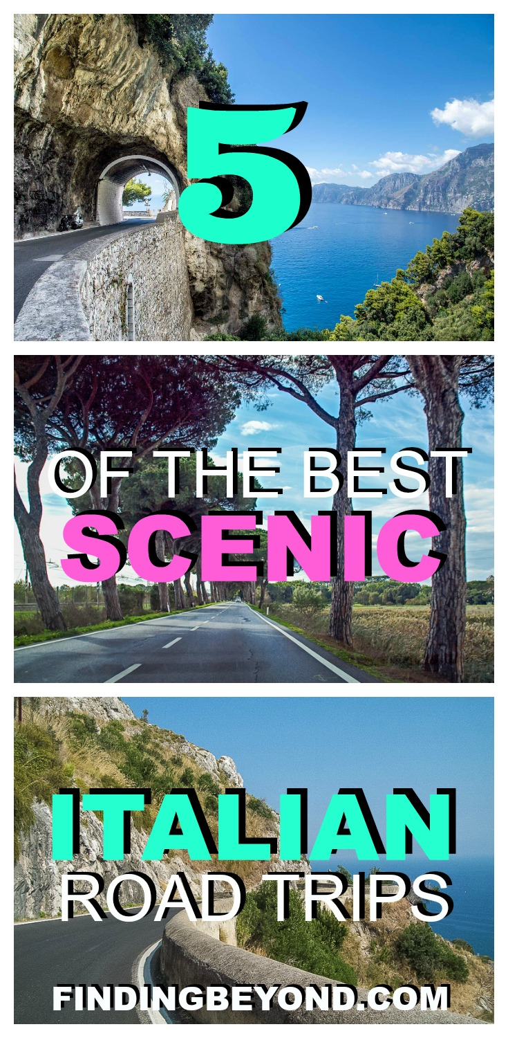 Doing a DIY Italian road trip is the best way to tour the country's local regions and beautiful countryside. Check out 5 of the best scenic drives in Italy.
