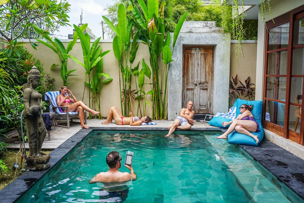 Villa hopping in bali with friends from home finding for Beautiful villas pics