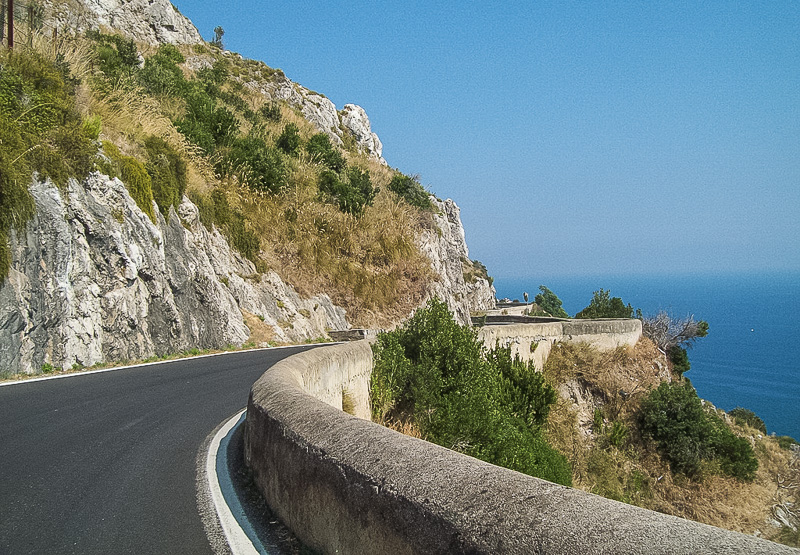 Italian Road Trip Itlay Drives Amalfi Coast