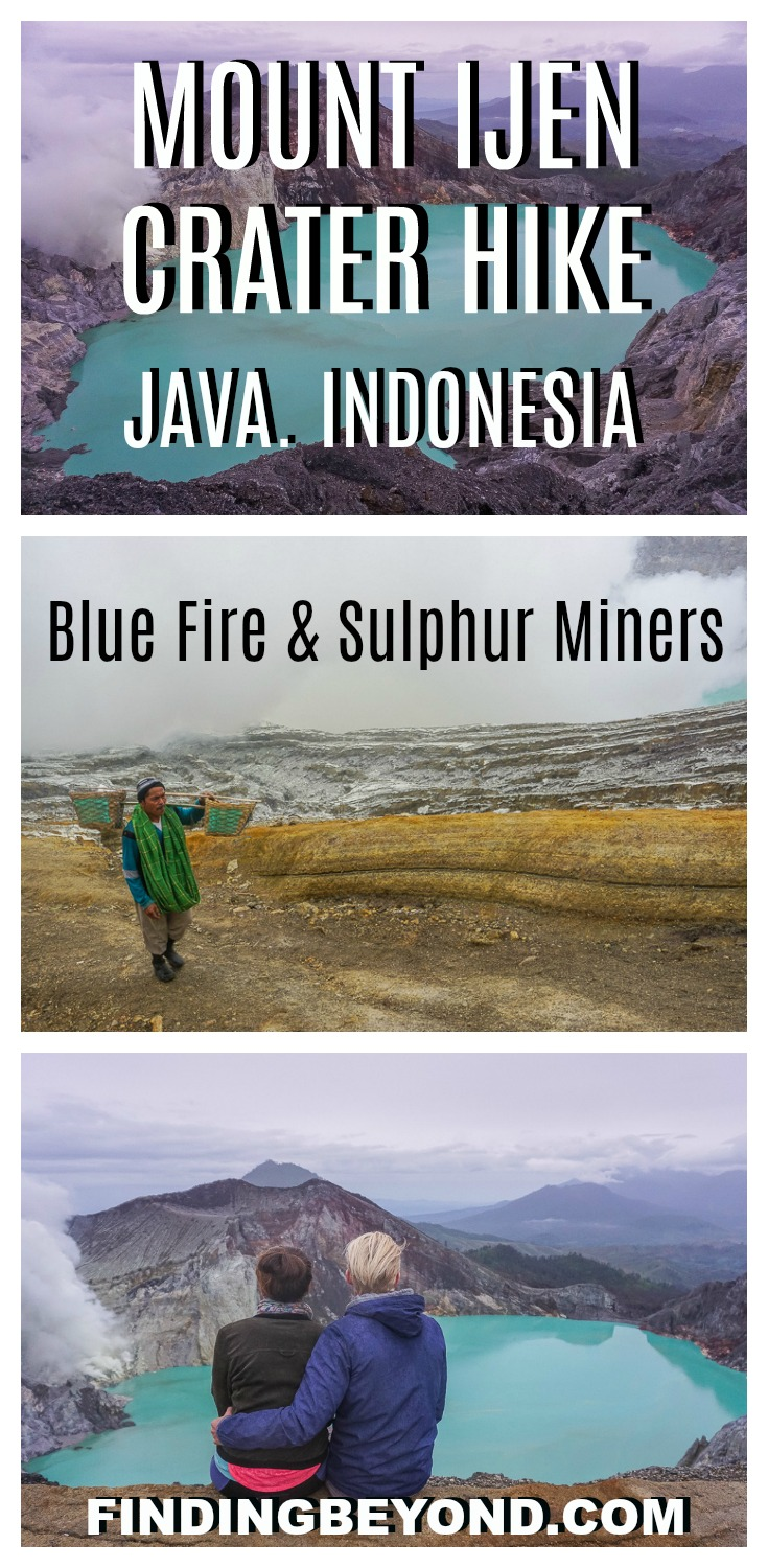 Check out our experience taking on the Mount Ijen crater hike to see the epic Ijen blue fire and the hardworking Ijen miners. It's An extraordinary volcano!