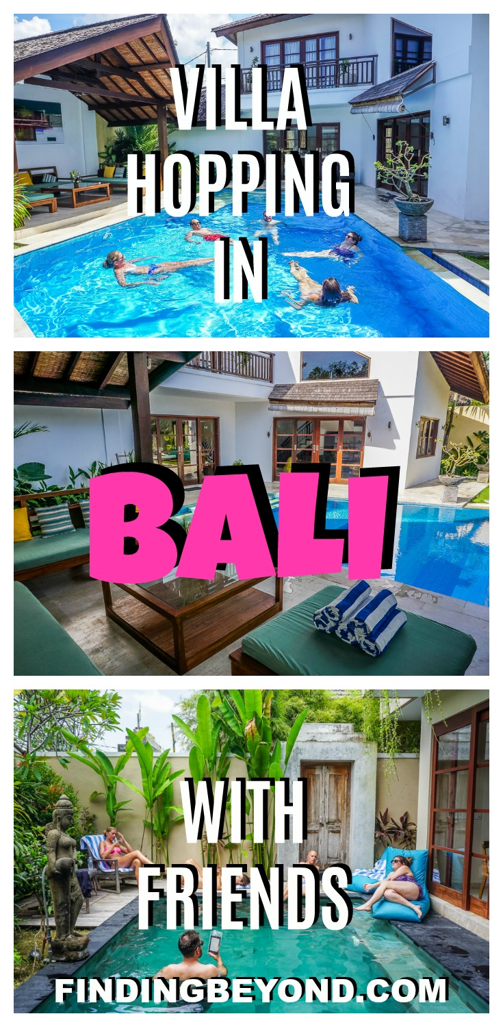 Hiring villas on the coast of Bali was the perfect way to catch up with our visiting friends. Check out our review of Villa Origami & Beautiful Bali Villas.
