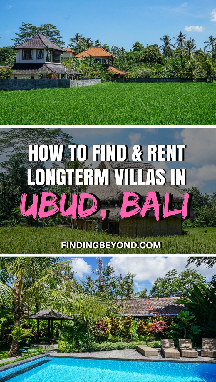 Looking to rent a long term villa in Ubud, Bali? Check out this article for hints and tips on how to find your perfect home.