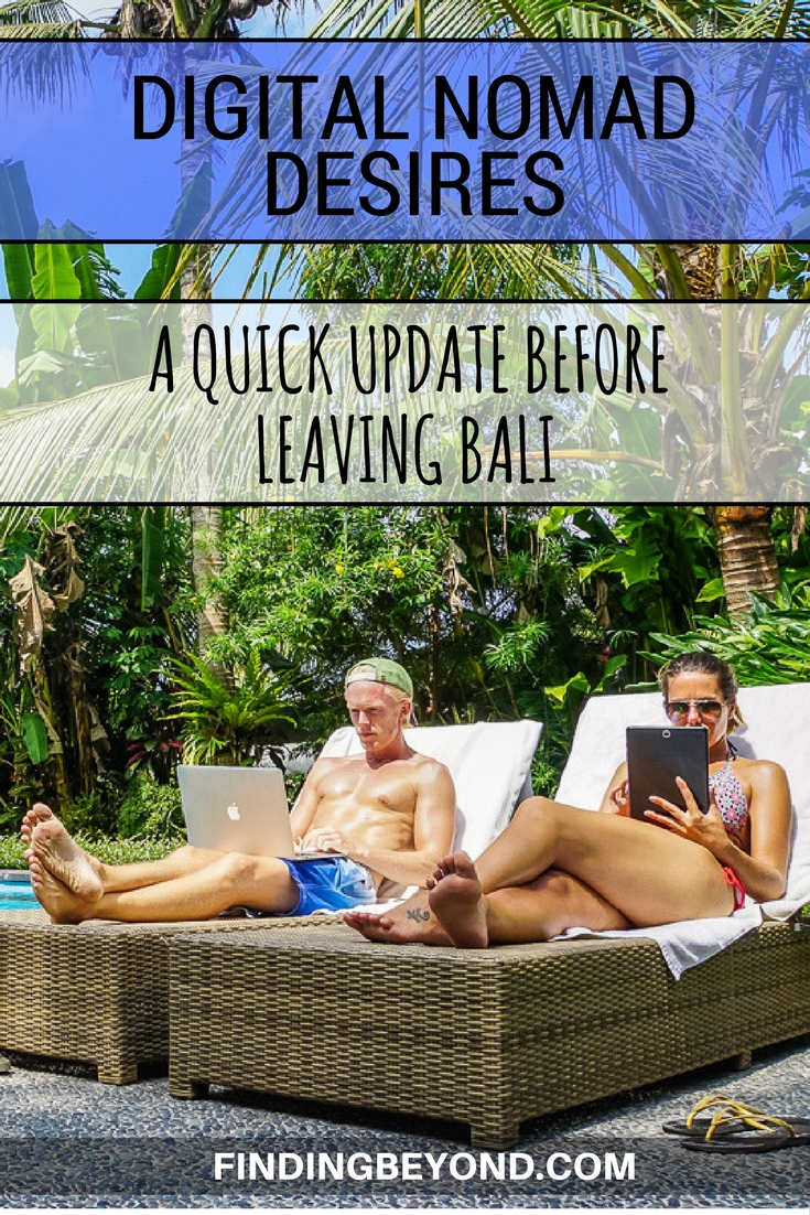 We're soon to be leaving Bali after two months of living on the island while working as digital nomads. So what progress have we made? Find out here!