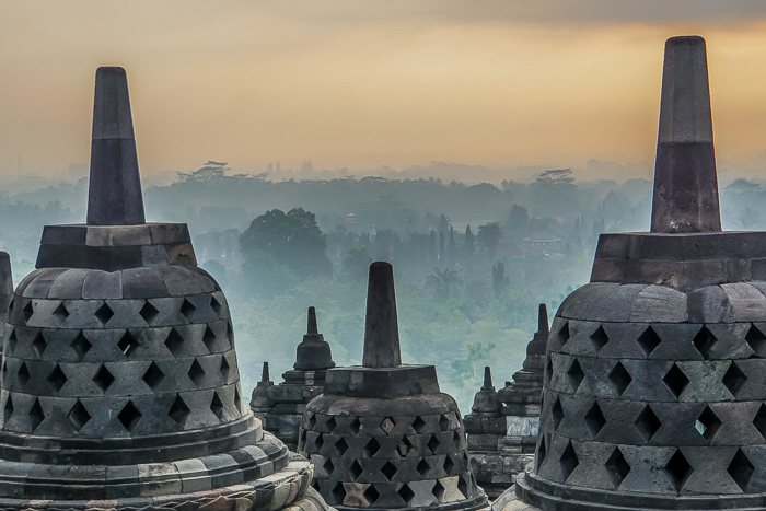 temple of borobudur sunrise java diy guide