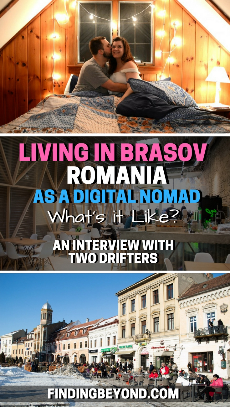 Find out what it's like to be living in Brasov, Romania as a Digital Nomad by reading our interview with travel bloggers Two Drifters.