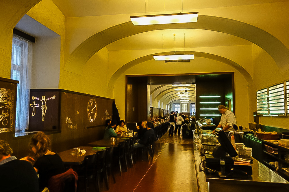 Lokal restaurant, Prague.