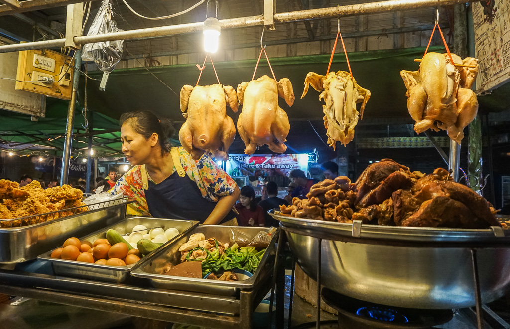 Chiang Mai street food vendor