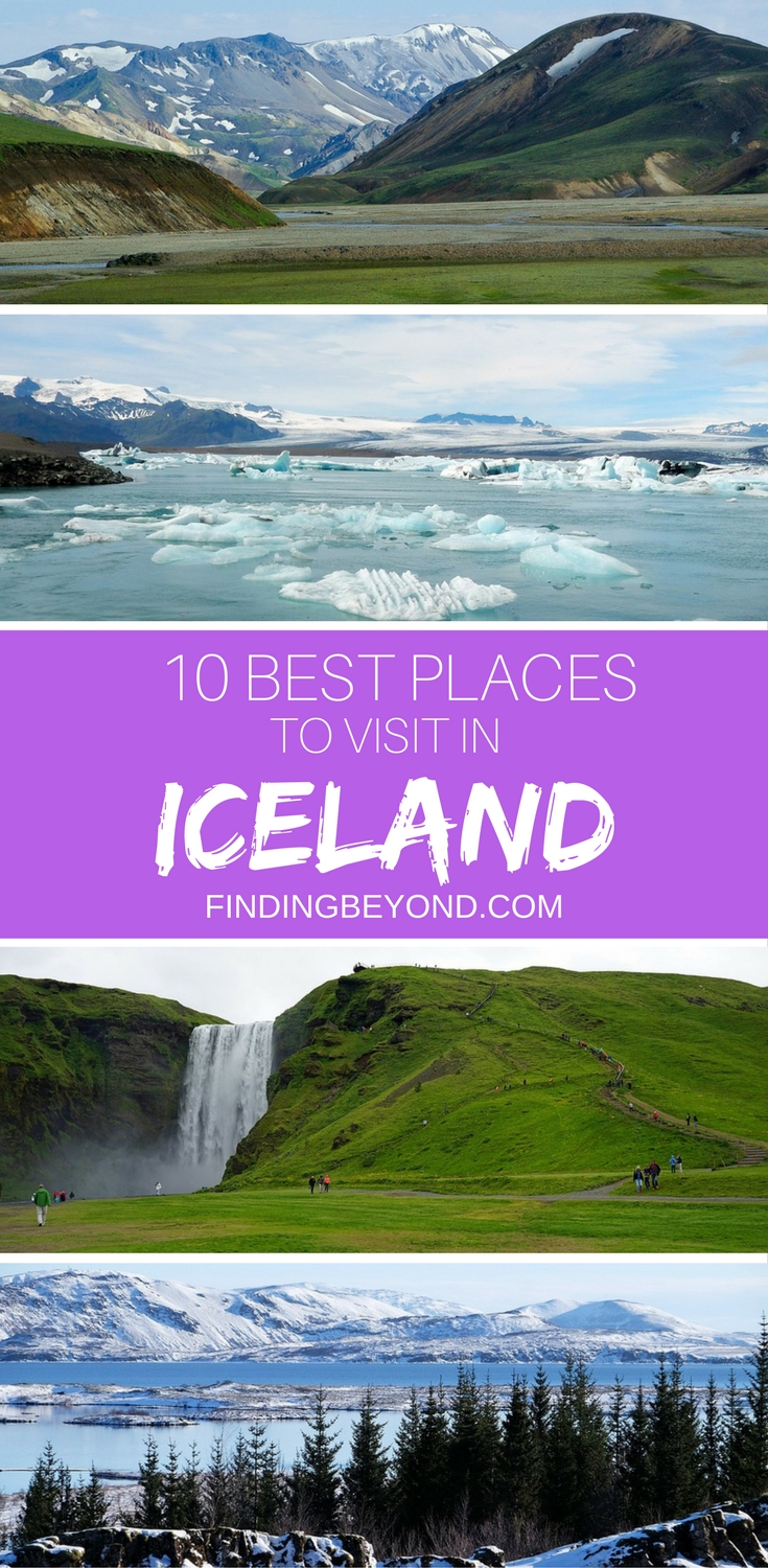Iceland has so much on offer that it's difficult to narrow it down to just 10 Best Places to Visit in Iceland, but we have done it! Check them out here.
