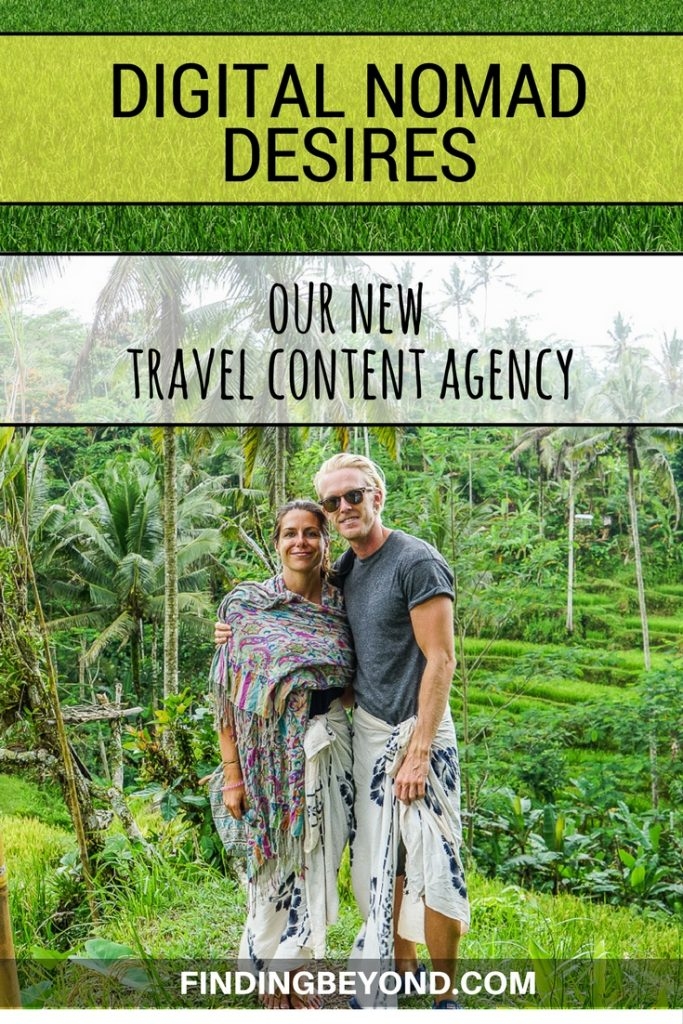 Find out about our new travel content agency. We've been working hard to build a new website and team to offer writing services and more to travel brands.