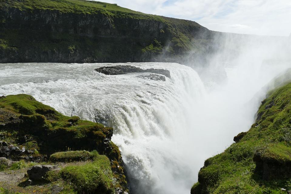gullfoss waterfall iceland