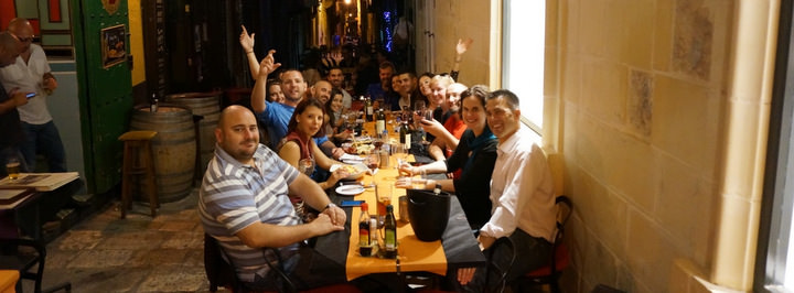 living in malta as a digital nomad night out