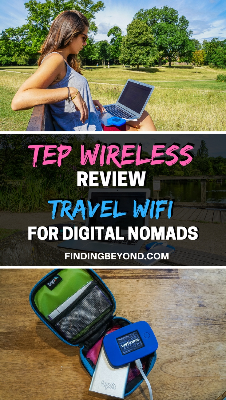 In this Tep wireless review, we'll explain why the Tep wireless device is an essential travel tool for every digital nomad travelling the world.