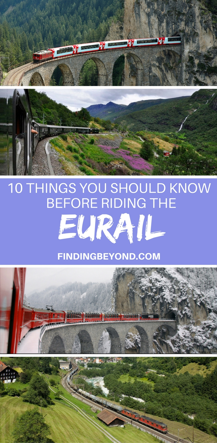In this extensive Eurail guide, we share with you the 10 things you should know when planning, booking and riding the Eurail train through Europe.