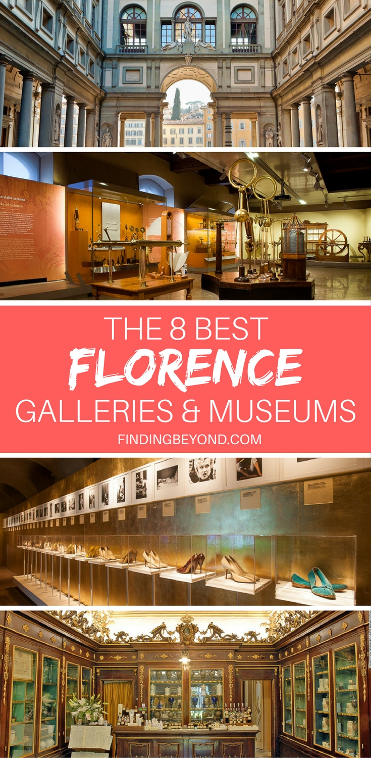 There's an overwhelming amount of beautiful galleries and museums in Florence, Italy. Which should you visit? In this article, we list 8 of the city's best.