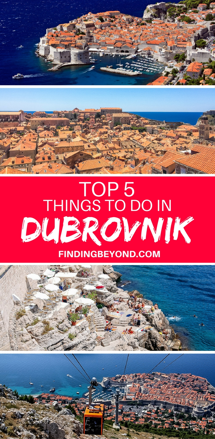 Dubrovnik in Croatia is a stunning city with a beautiful old town, nearby islands and awesome restaurants. Check out our 5 top things to do in Dubrovnik.