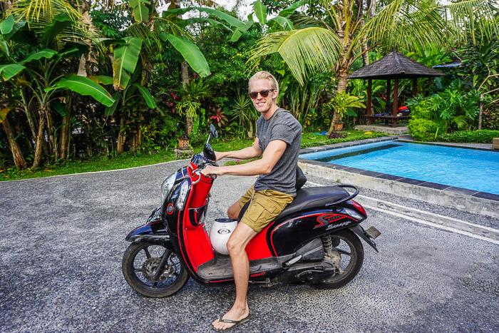 penestanan village moped