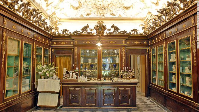santa maria novella pharmacy florence museums galleries