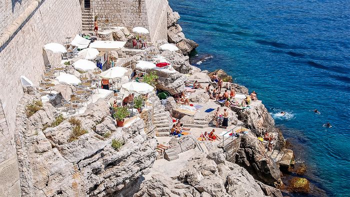 Top Things to do in Dubrovnik Buza Bar